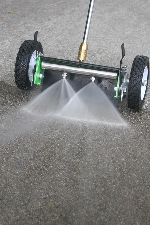 Bilker flat surface cleaner pressure washer attachment