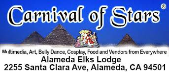 NEW LOCATION  - info and registration forms carnivalofstars.com  -  (510) 548-6128