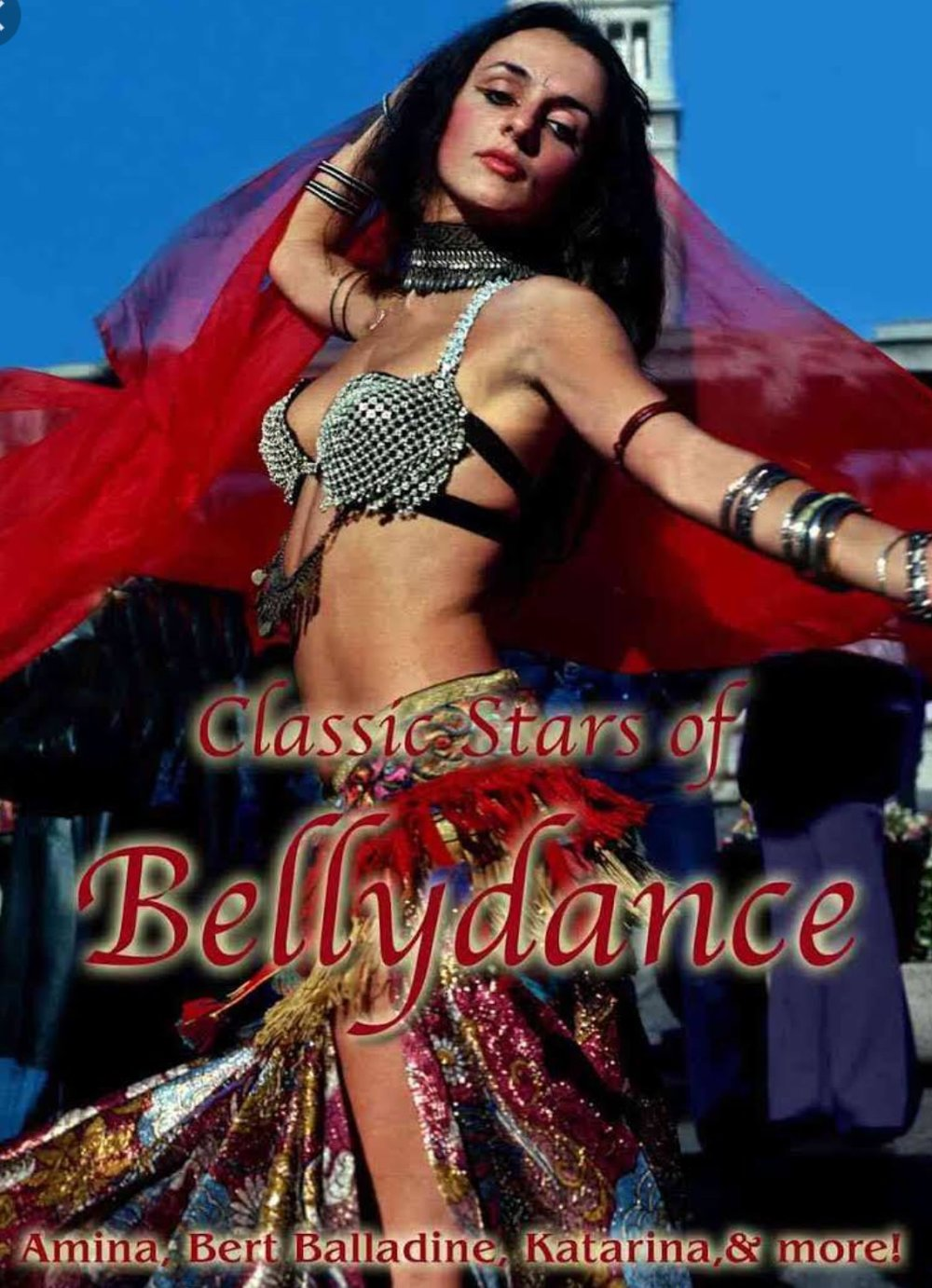 "Filmed in 1974 and released in 1976 under the title ""Gameel Gamal"" (Oh! Beautiful Dancer), Gordon Inkeles' 25 minute short played several film festivals and then vanished for 30 years. It presents a brief history of belly dancing, then the story of two young dancers, Katarina (pictured) and Taia, who are breaking into an apparently thriving belly dance scene in San Francisco. The new title is appropriate. The film contains entire belly dances by Katarina and Taia, and also by their senior, Amina, who tells them they should perform as if dancing for a king. We later see her dance, and that's exactly what she does. Though short, the film is a satisfying introduction to belly-dance aesthetics, in that each of these classic dancers brings a special quality, a special talent and a slightly different approach to her work. But the film is something more, an unexpectedly touching document of this city a generation ago. I found out about the film because (full disclosure) I'm a friend of Katarina's -- known today as Stanford acting teacher Kay Kostopoulos and as the vocalist for Black Olive Jazz. I'm glad I did, because even beyond the belly-dance aspect, there's something magical and wistful about traveling in this time machine and finding yourself on some lost yet vibrant afternoon, watching De Ann Adams (Miss Sonoma County 1968) perform an extended dance by the Embarcadero. Not everyone will be moved, but if you loved the '70s, you'll understand.""  Review by Mick LaSalle of the San Francisco Chronicle, Sunday, July 1, 2007.   Paypal $15 includes postage if in U.S. If outside of U.S. please email to determine postage fees to include in paypal. Please specify product and include your shipping address."