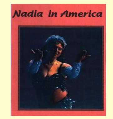 Nadia in America is a complete show featuring Nadia Hamdi from Cairo Egypt in her first American dance tour (1995). In this video you will see her perform Oriental, Melayya Lef and Shamadan dances. The show also features Amina and the Aswan Dancers and Susu and the Cairo Cats.