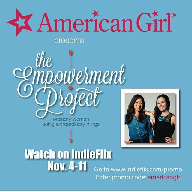 Very excited @empowermentdocu will be on @indieflix in a week! Check it out!