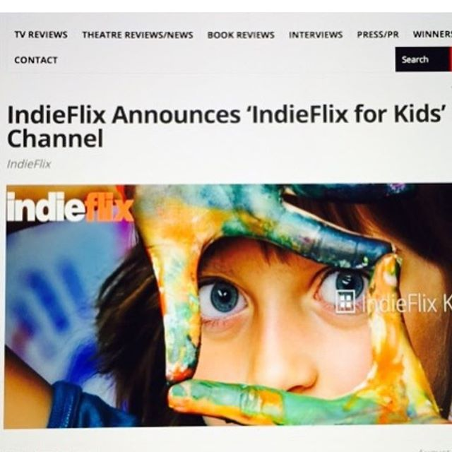 #regram from @indieflixceo @indieflix Launches 'IndieFlix for Kids' #movies #indies #kids #children #kidmovies