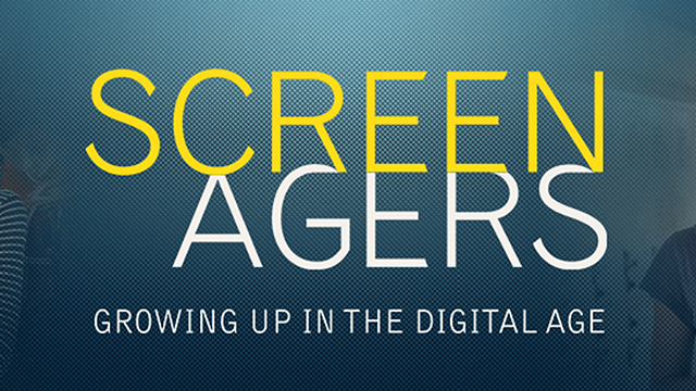 With stories and insights from today's thought leaders,  Screenagers  explores how socializing online affects teens' developing attention spans, self esteem and sense of empathy.