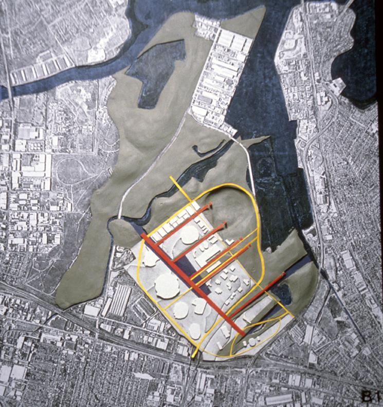 Sydney Olympics Conceptual Design Study Model. Hargreaves Associates. 1998.