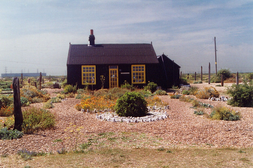 Prospect cottage, Derek Jarman's home. Source:  Wikimedia Commons.
