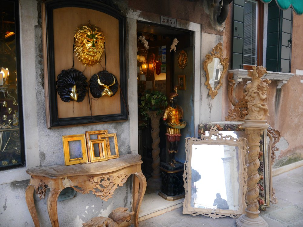 A shop I saw in Venice.