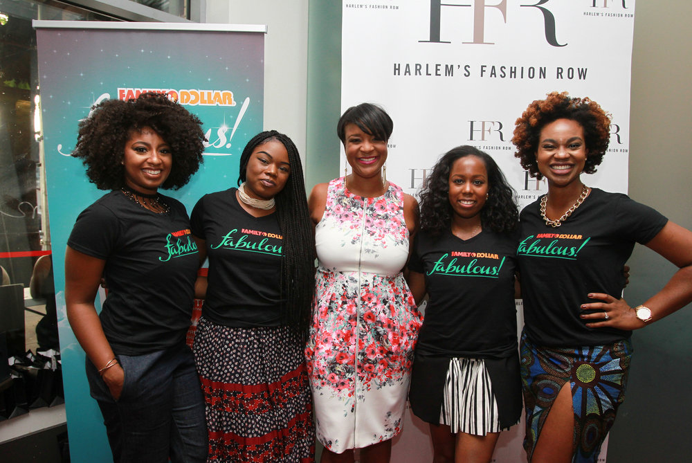 HFR Founder Brandice with myself and Influencer Micaela  @Micaelaverelien Jacqueline @livelovelaurean and Ijeoma @KlassyKinks
