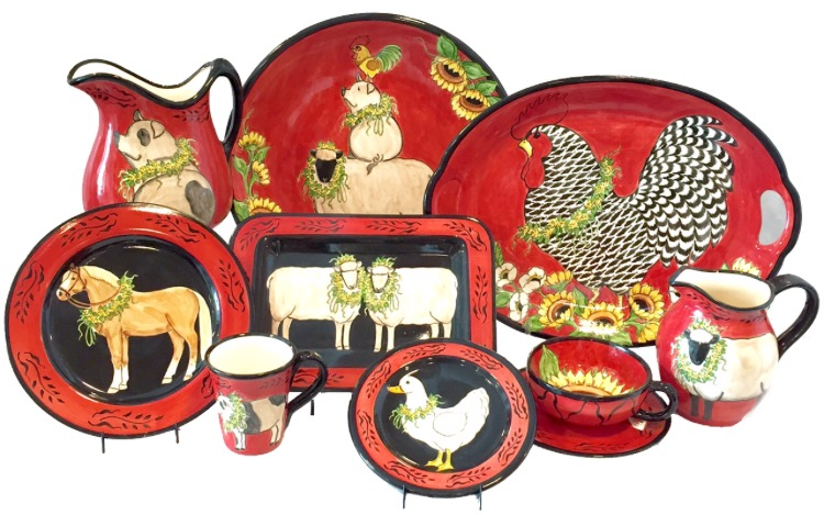 Red Farm Animal Collection