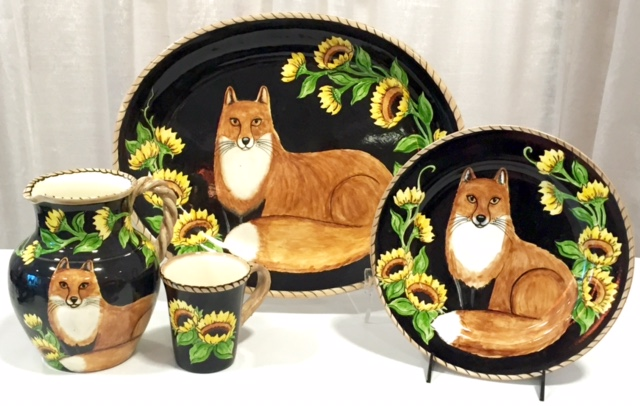 Fox and Floral Collection