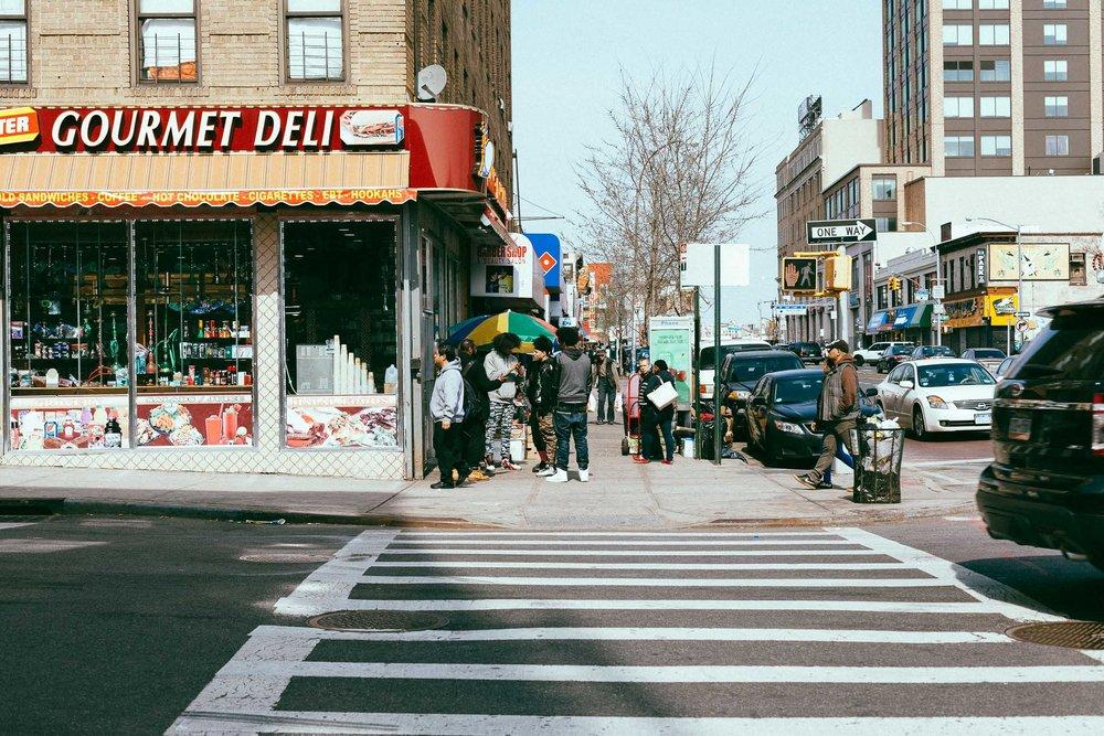 bronx corner liquor store hood new york