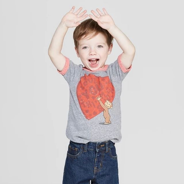Get your little valentine our adorable Curious George t-shirt that he is sure love! Now being sold in Target. Click the link in our bio to purchase! ❤️🐵 #curiousgeorge #toddlerboy #toddler #toddlerclothing #toddlerfashion #graphictee #clothing #apparel #childrenswear #fashion #trends #fashiontrends #kidsstyle #kids #style #fashionkids #fashionkidsoftheday #fashionkidsofinstagram #ootd #momlife #momswithkids #momsofinstagram