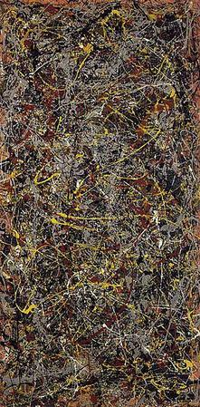 Jackon Pollock,  No.5 1948,  1948, oil on canvas