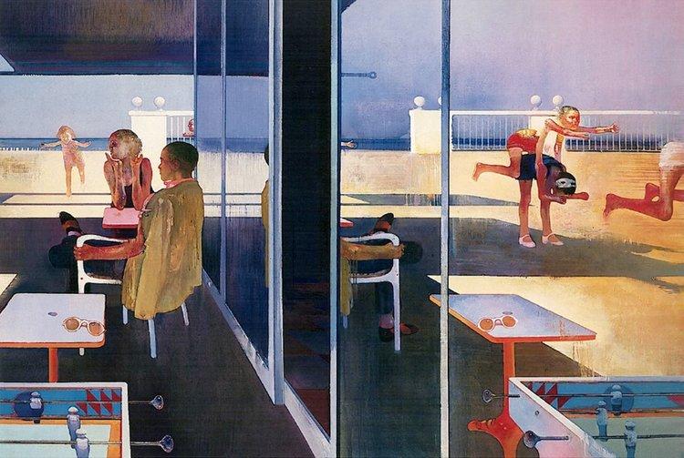 Leonardo Cremonini, Obstacles, Parcours et Reflets  (1975-76)