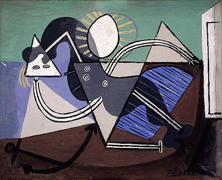 Picasso's  Nu sur la plage  (1932) © Succession Picasso/DACS, London 2018