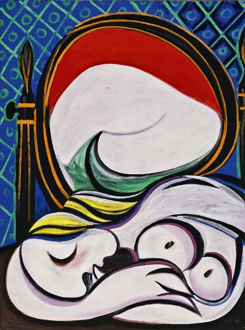 Picasso's  Le Miroir  (1932) © Succession Picasso