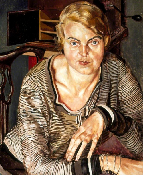 Spencer's  Patricia Preece  (1933) © Estate of Stanley Spencer / Southampton City Art Gallery