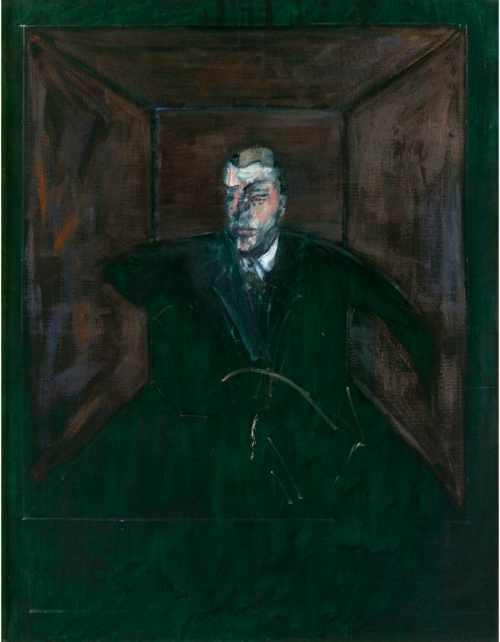 Francis Bacon's  Study for a Figure VI  (1956-7) © Estate of Francis Bacon