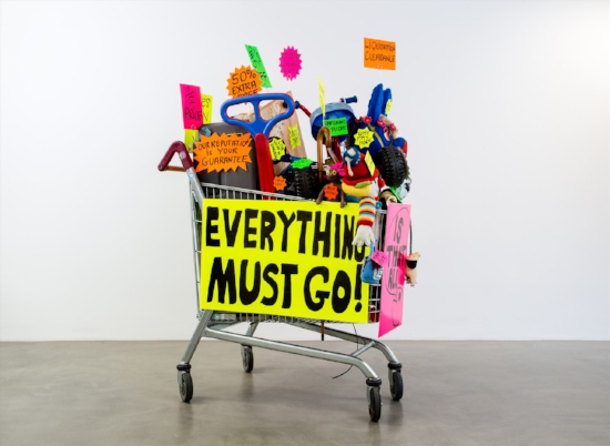 Michael Landy's  Everything must Go  (2018)