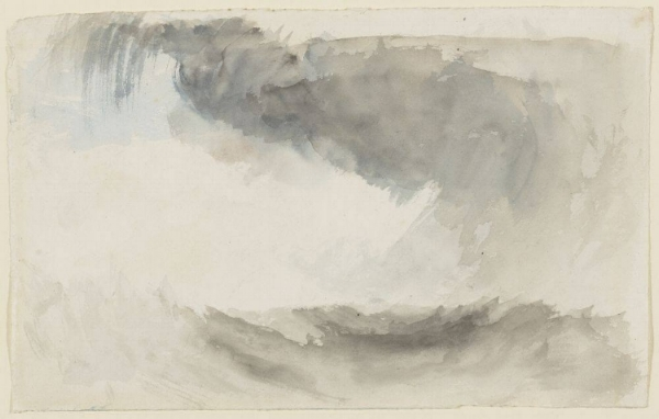 J.M.W Turner's  A Storm at Sea  (c., 1831) Courtesy of the Minneapolis Institute of Art