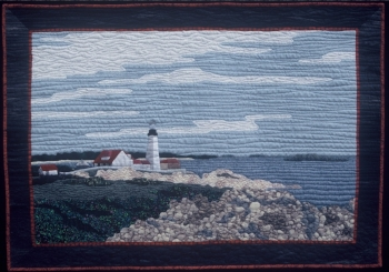 """Cape Elizabeth"" from the Layered Landscapes Workshop."