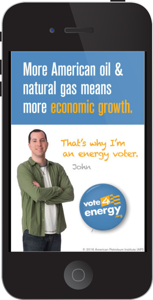 "API ""Vote 4 Energy"" Digital Ad"