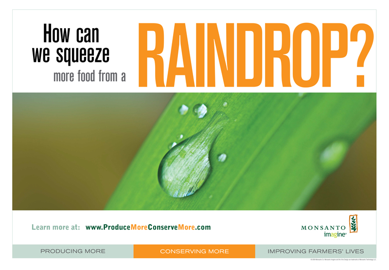 Monsanto Outdoor Ad