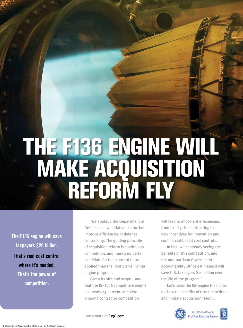 GE Aviation Print Ad
