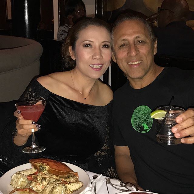 Celebrate my husband birthday , wish happy health long life love you Robert contreras #crustacean #love #peace