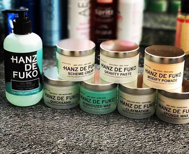 Thank you #hanzdefuko for the wonderful products and amazing class make my job even better. #tvshow #commercial #hairstyles #celebrityhair #salon
