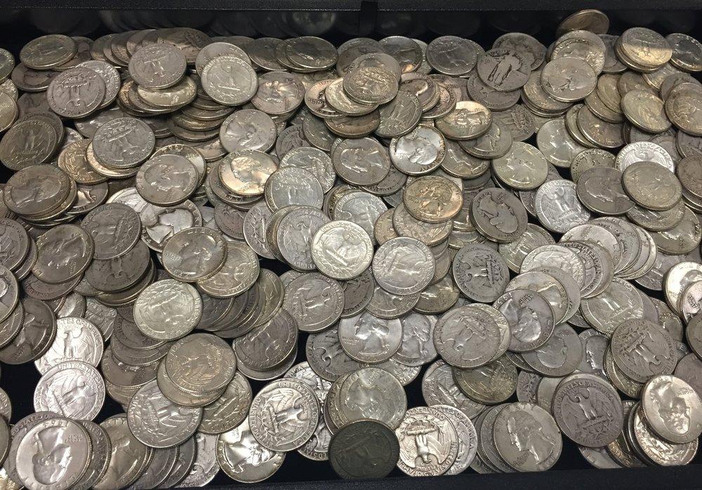 Pre-1964 Silver Quarters