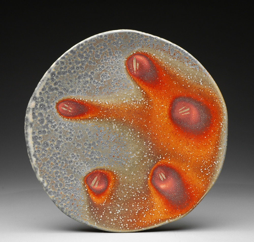 Dinner Plate , soda fired stoneware, 201