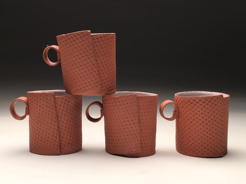 Ceramics I, Soft Slab Mug Set