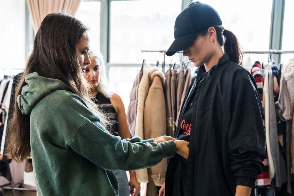 KITH - Take a look at a collection cultivated by Ronnie Fieg and styled by Emily Oberg