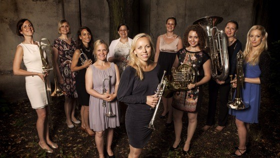 tenThing, All-Female, All-Norwegian, All-Brass!