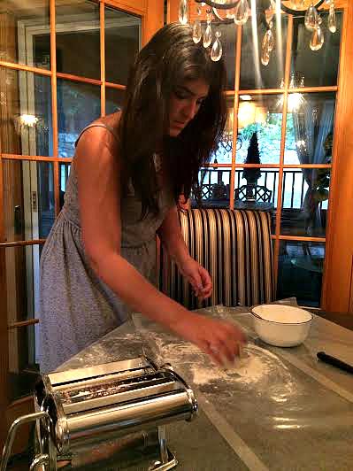 Making pasta 3