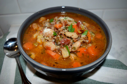 Farro Soup by FIG