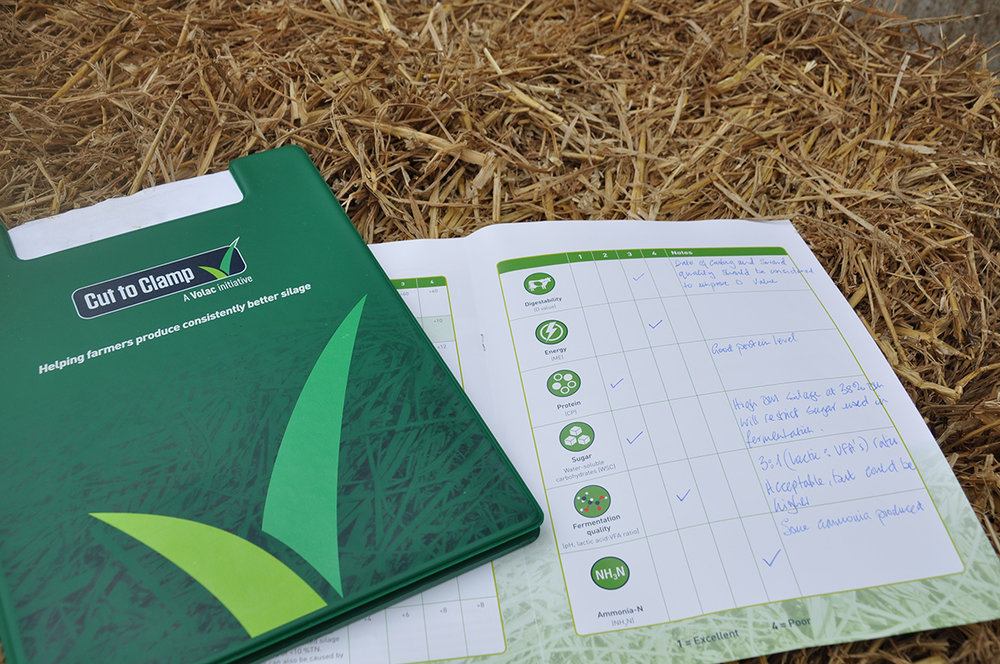 The Cut to Clamp consultation simplifies the silage analysis into a user-friendly summary