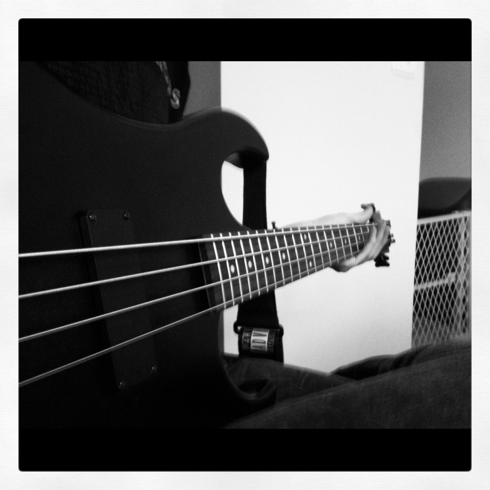 Tracking some bass.