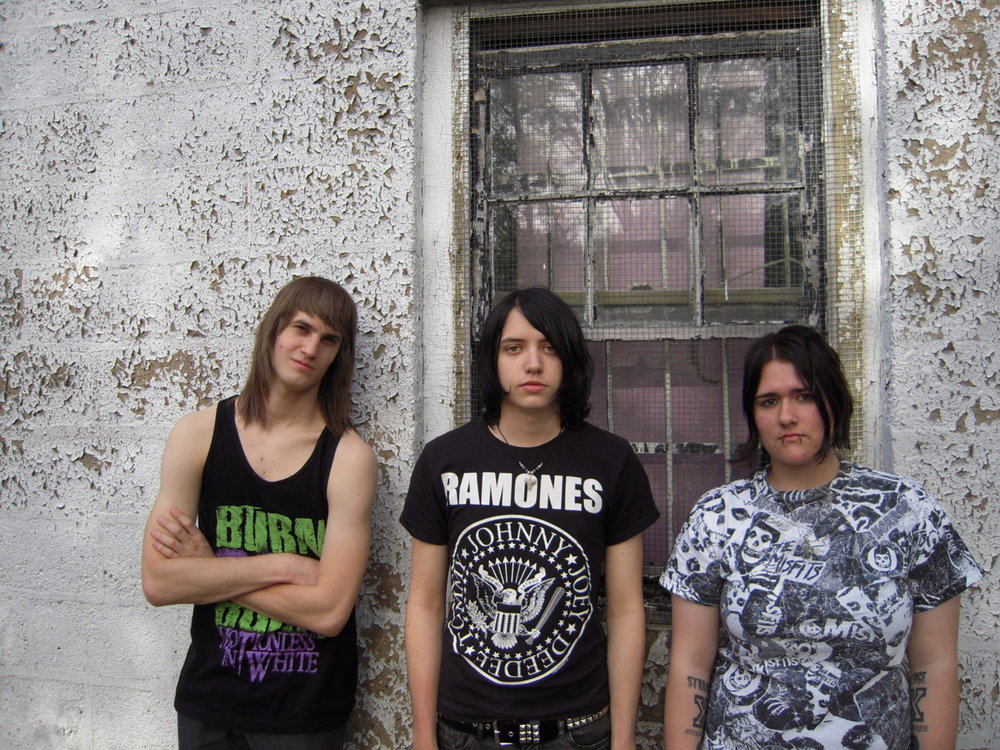 Ill-Advised (Left to Right) Mike Wieczenski (Drums), Harry Metzler (Vocals/Guitars), Nicole Briles (Bass)