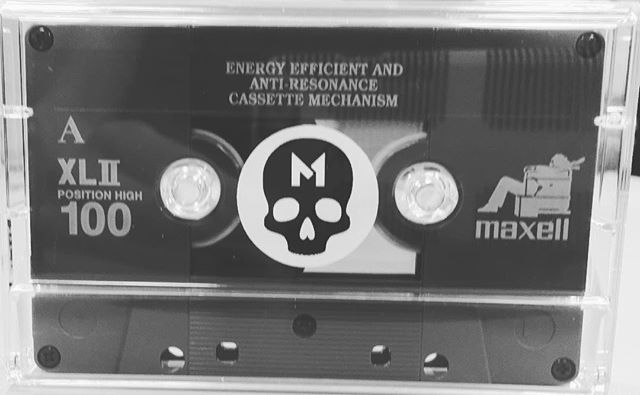 #MASOCHISTS V.01 on #cassette. Join the #CyanideClub at http://smarturl.it/CyanideClub for a chance to win V.02 - V.11. It's free to join. 💀. 💀. 💀. #alternative #rock #electronic #industrial #diy #punk #indie #cassette #tape #analog #tapeculture #cassettelabel #nyc #newmusic #newalbum