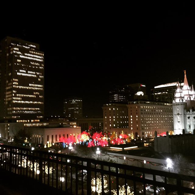 The view from #saltlakecity #slc