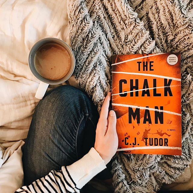 HAPPY PUB DAY to this fantastic thriller! . The Chalk Man by CJ Tudor has so pleasantly surprised me. Thrillers can tend to get muddled together in their predictability and sameness, but The Chalk Man was bewildering, harrowing, and twisted till the very end. Not to mention that this book was hilarious. I laughed out loud many times — another uncommon trait for a book like this one, but it worked. . Make sure to read this if you love being swept off your feet with laughter, suspense, excitement and horror. . Thank you @crownpublishing for giving me this free book in exchange for an honest review 💞