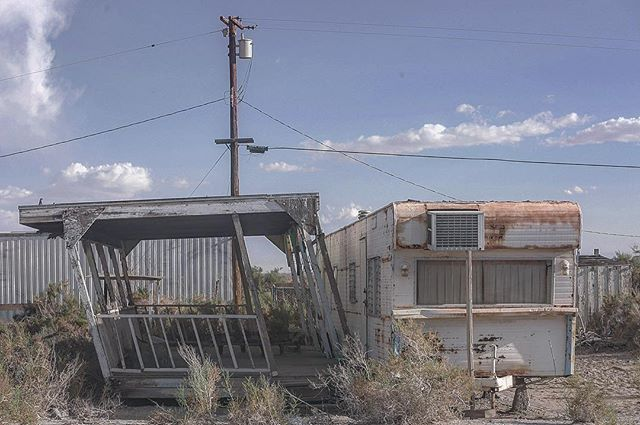 Here you'll find Solitude in Abandonment. -Salton City, CA
