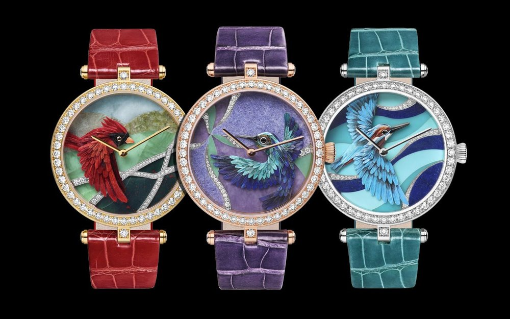 Nelly Saunier watches.