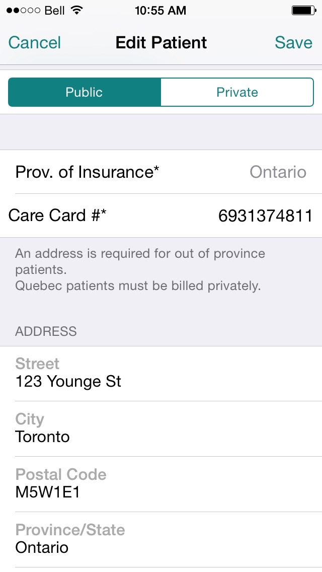 Out of Province Medical Billing Software