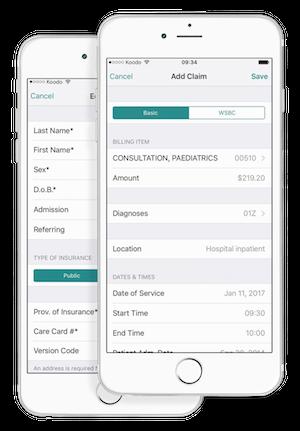 Dr Bill iOS Medical Billing App