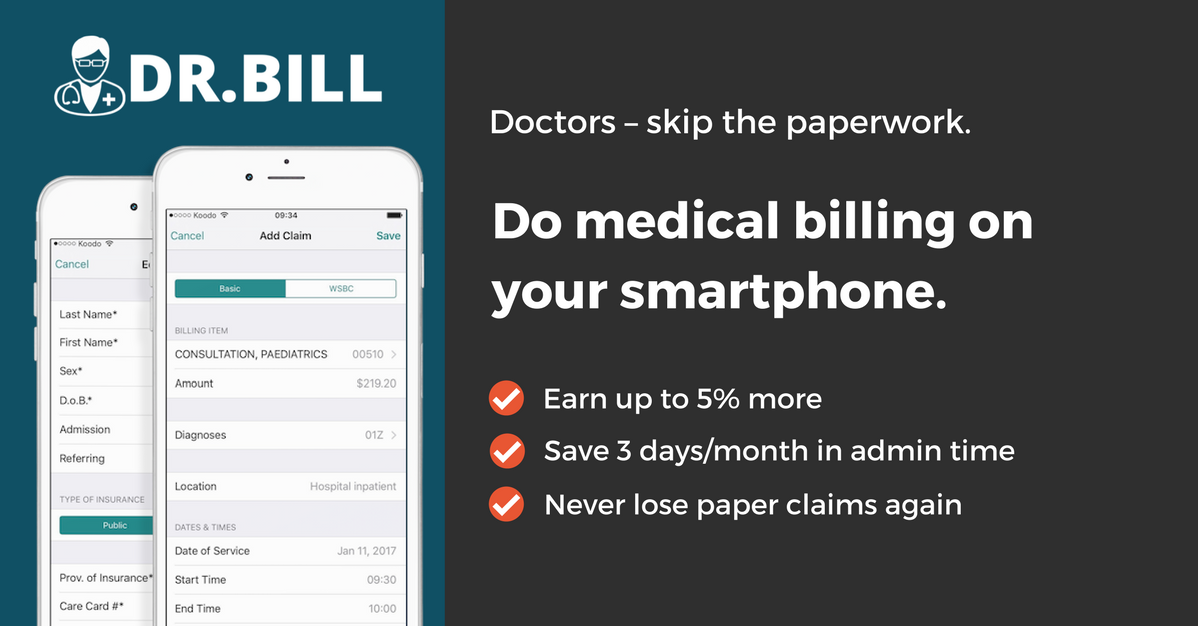 msp billing software web mobile medical billing apps for bc physicians medical billing app dr bill