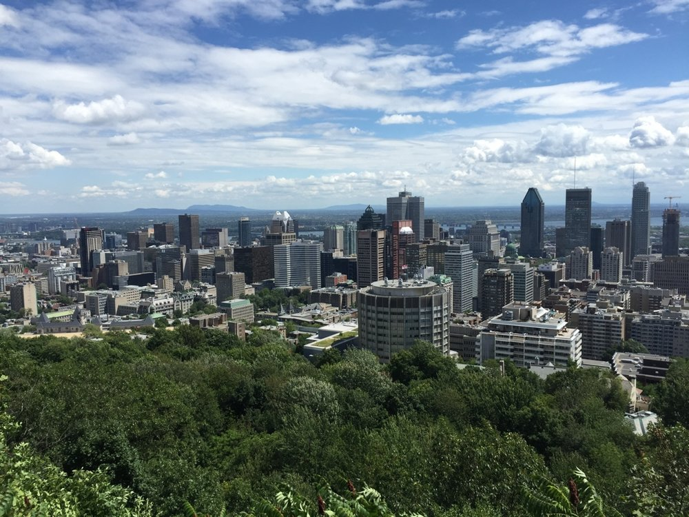 McGill University is located in the heart of Montreal.