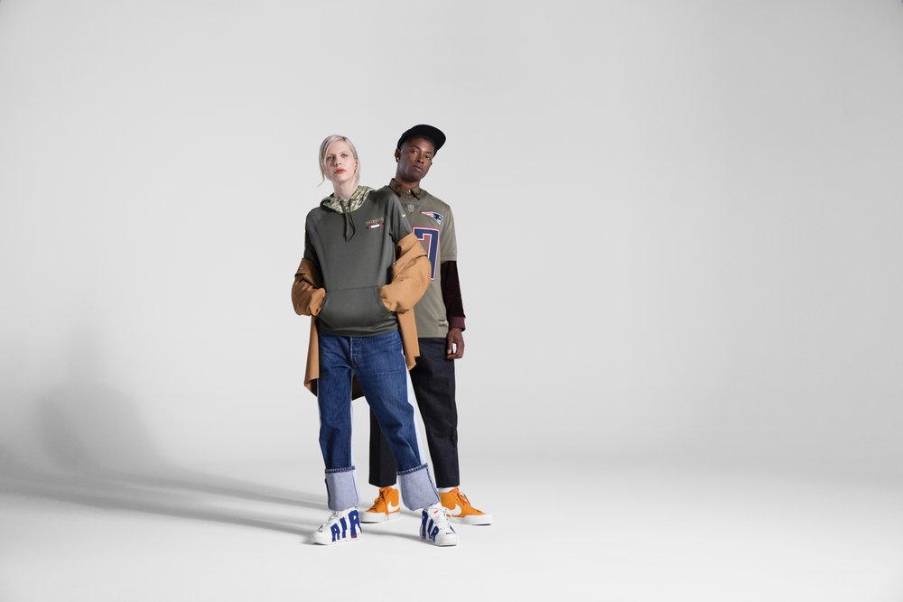NIKE FOOTBALL SALUTE TO SERVICE     NIKE NORTH AMERICA    Art Direction: Ragen Fykes  Photography: Sheldon Sabbatini  Wardrobe Styling: Ragen Fykes
