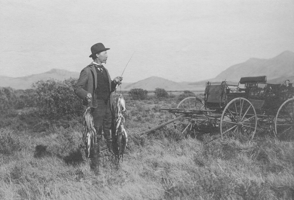 MY GREAT GREAT GRANDFATHER  |  RED ROCK LAKE, MONTANA  |  CIRCA 1882-1885